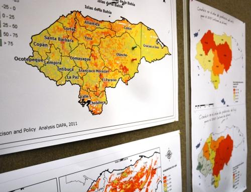 Taller sobre el cambio climático y escenarios futuros para orientar los planes de adaptación local en Honduras