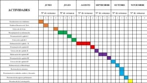 Cronograma de proyectos