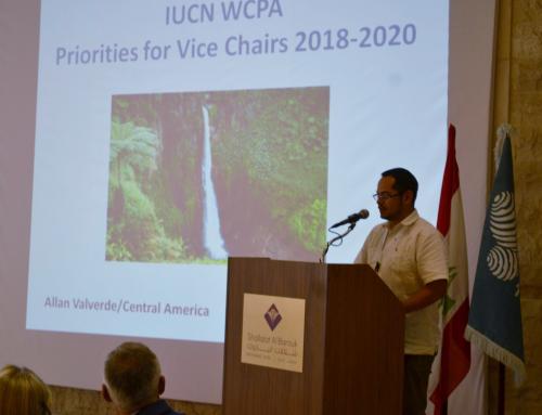 Director de ELAP participa en reunión anual del Comité Ejecutivo de la Comisión Mundial de Áreas Protegidas.