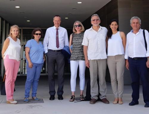 Visita al Centro Iberoamericano de la Biodiversidad (CIBIO)